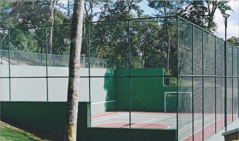 Telas para quadras esportivas